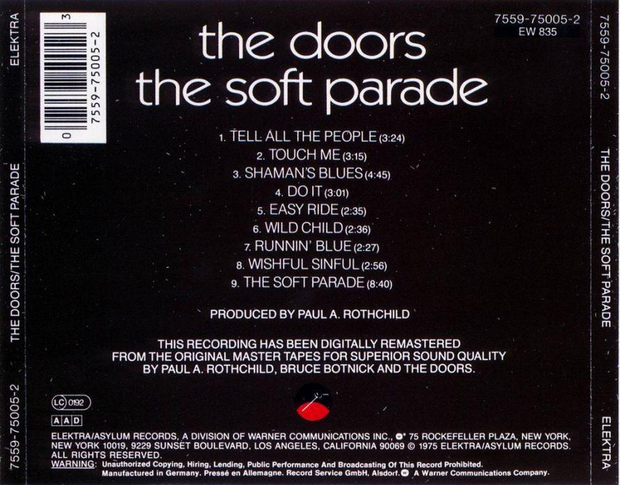 The Doors Diskografie Lyrics Cover